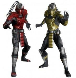 Mortal Kombat - Sektor & Cyrax Klassic Skins