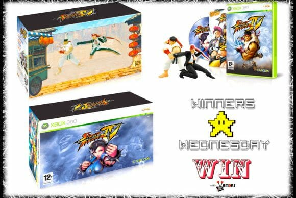 Win With Vamers: Winners Wednesday Street Fighter IV