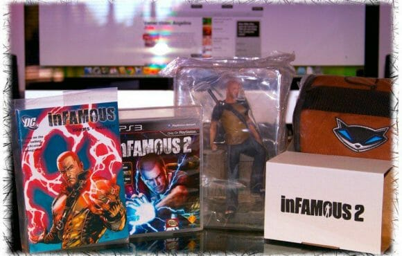 Vamers Unboxing: Contents of the inFAMOUS 2 Hero Edition