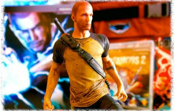 Unboxing: Cole McGrath statuette from inFAMOUS 2 Hero Edition (© PlayStation Blog)