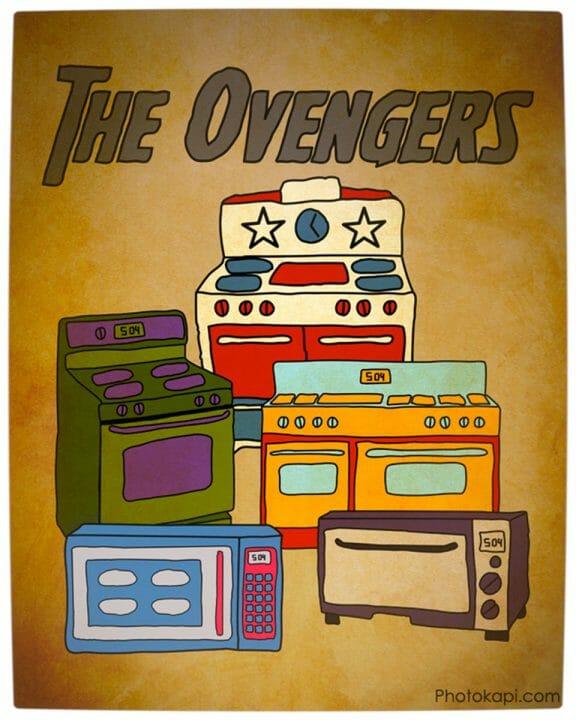 Vamers - Artistry - The Ovengers