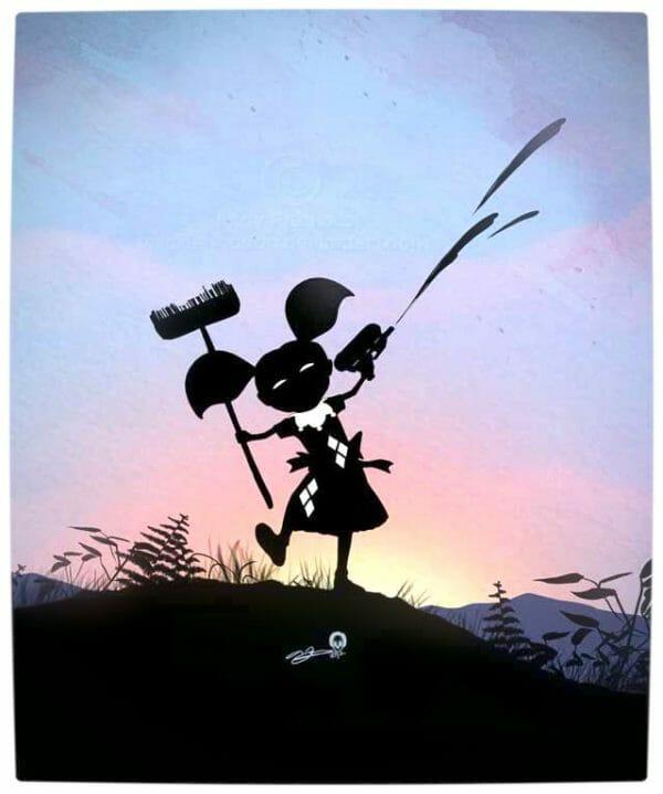 Vamers - Artistry - Superhero Kids Silhouettes - Harley Quinn Kid