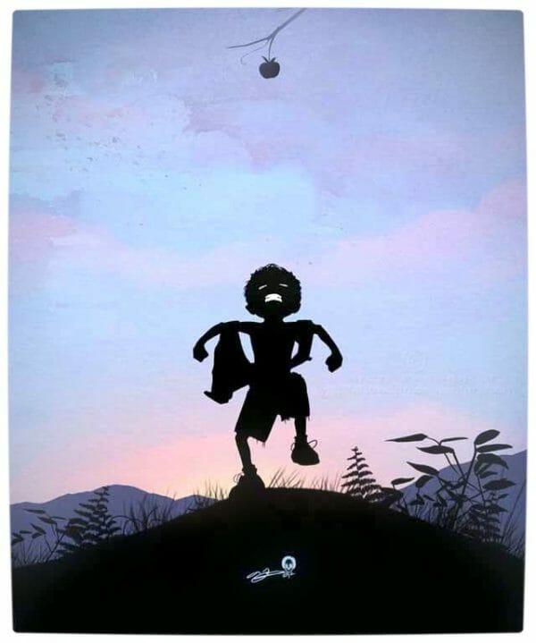 Vamers - Artistry - Superhero Kids Silhouettes - Hulk Kid