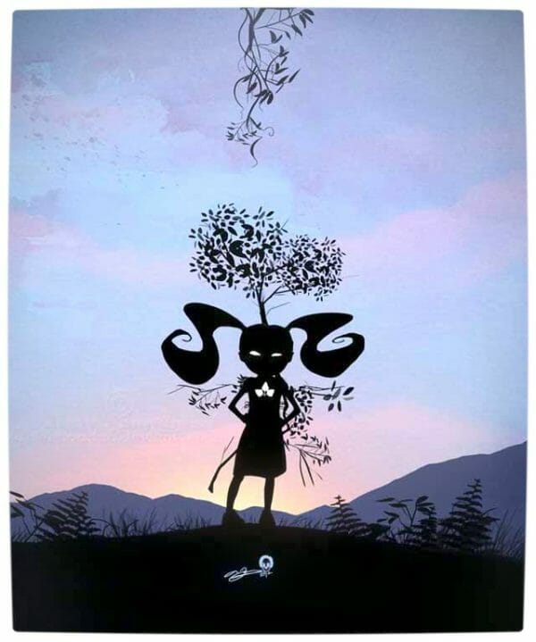 Vamers - Artistry - Superhero Kids Silhouettes - Poison Ivy Kid