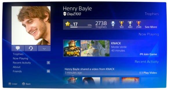 Vamers - FYI - Gaming - PlayStation 4 - PlayStation Network Profiles