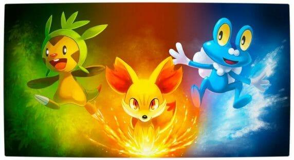 Vamers - FYI - Pokemon X & Y - Starter Pokemon