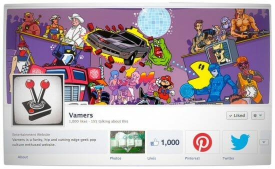 Vamers - Vamers Voice - 1000 Facebook Fans  Milestone - Banner