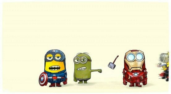Vamers - Geekosphere - Minions as The Avengers (Image)