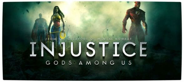 Vamers - FYI - Games - Injustice Gods Among Us - Banner