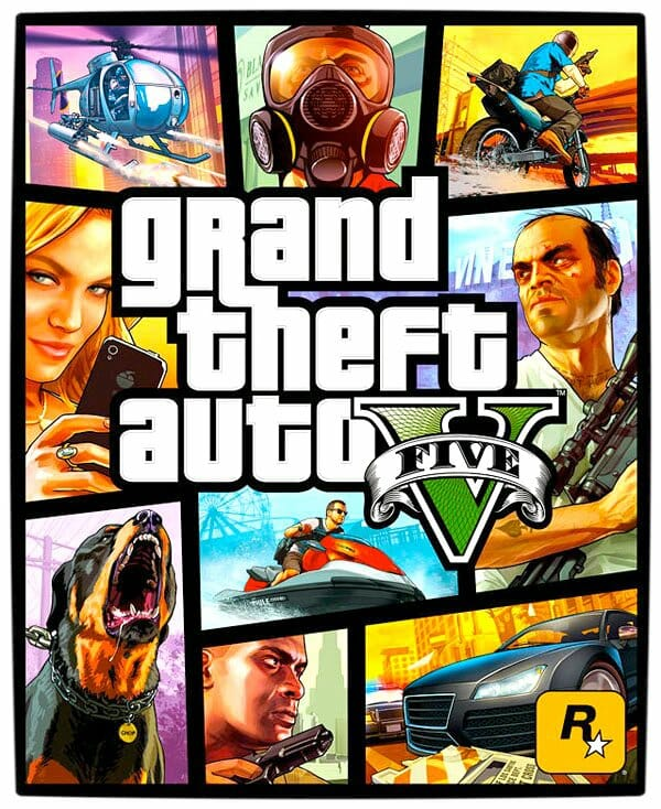 Vamers - FYI - Gaming  - Grand Theft Auto V [Official Cover Art]