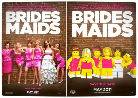 Vamers - Fandom - Movie Lego Posters - Bridesmaids