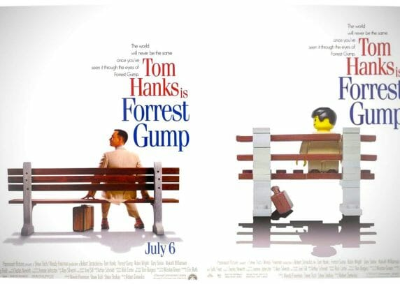 Vamers - Fandom - Movie Lego Posters - Forrest Gump