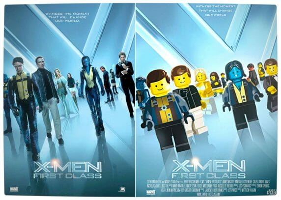 Vamers - Fandom - Movie Lego Posters - X-Men First Class