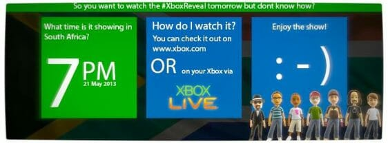 Vamers - FYI - Games - Watch the next generation Xbox reveal online.