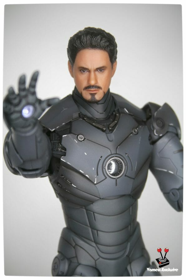 Vamers - Hot Toys - Limited Edition Collectible - Iron Man Mark III - SIlly Thing's TK Edition - MMS101 - Tony Stark Ready to Fire