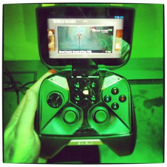 Vamers - FYI - Gaming - Gadgetology - Nvidia Shield Hands-On