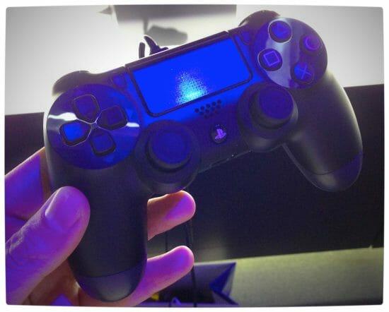 Vamers - Games - Sony's DualShock 4 - Hands-On - The DualShock 4 - In-Hand