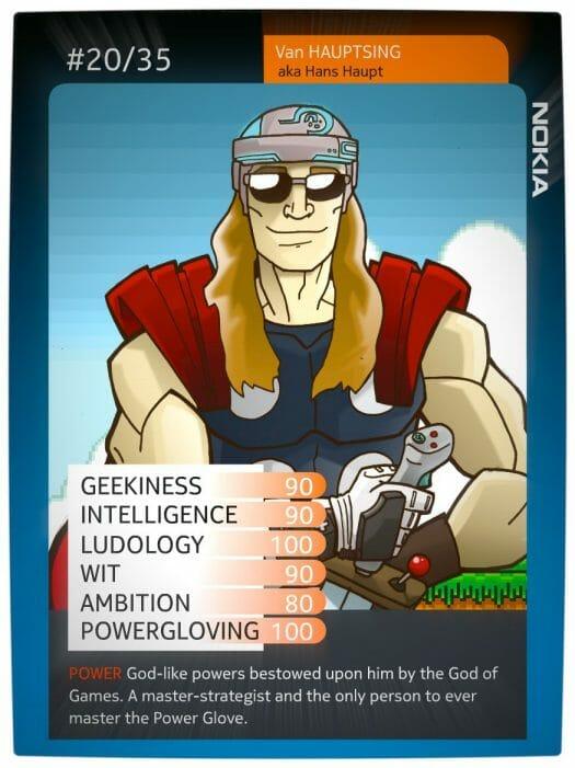 Vamers - Nokia Superhero - Lumia 720 - Hero Card - Van Hauptsing