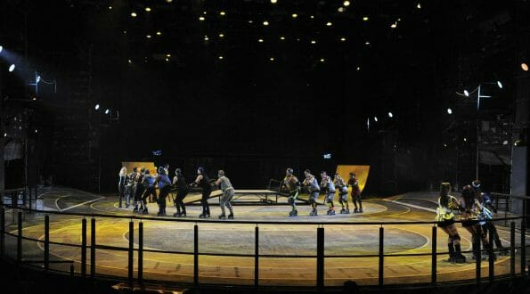 Vamers - Starlight Express South Africa - Unique Stage