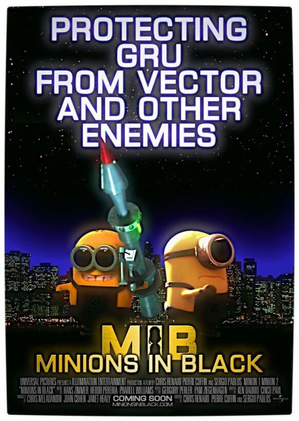 Vamers - Fandom - Minions in Black Movie Poster