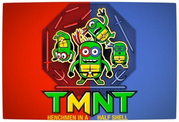 Vamers - SUATMM - Teenage Minion Ninja Turtles - Red and Blue