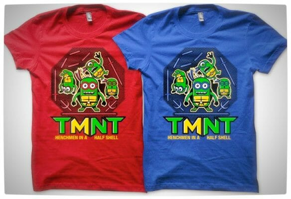 Vamers - SUATMM - Teenage Minion Ninja Turtles - T-Shirt