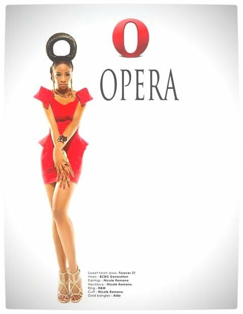 Vamers - Apparel - Ladies Fashion Inspired by Internet Browsers - Viktorija Pashuta - Opera