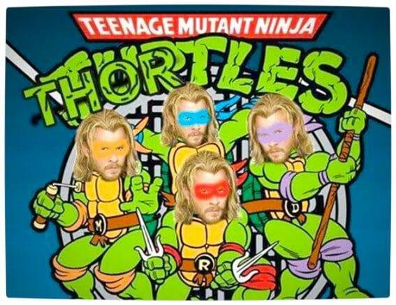 Vamers - Artistry - Thorsday - Teenage Mutant Ninja Thortles