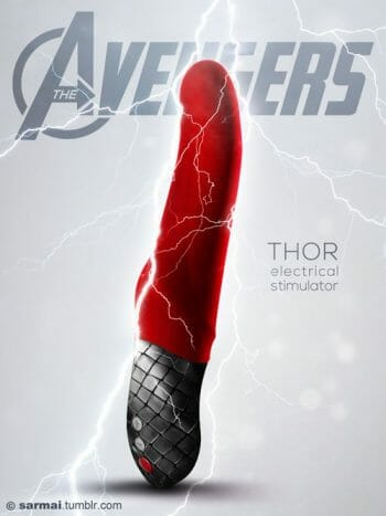 Vamers - Ermahgerd - Earth's Mightiest Sex Toys Assemble as The Avengers Dildos - Thor