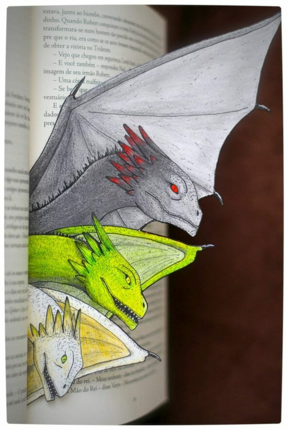 Vamers - Fandom - Game of Thrones Blood of My Blood Bookmark by Caninos Brancos