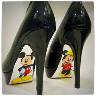 Vamers - G-Life - Sexy Shoes Inspired by Disney Princesses - Monarch - Mickey Mouse and Minnie Mouse High Heels