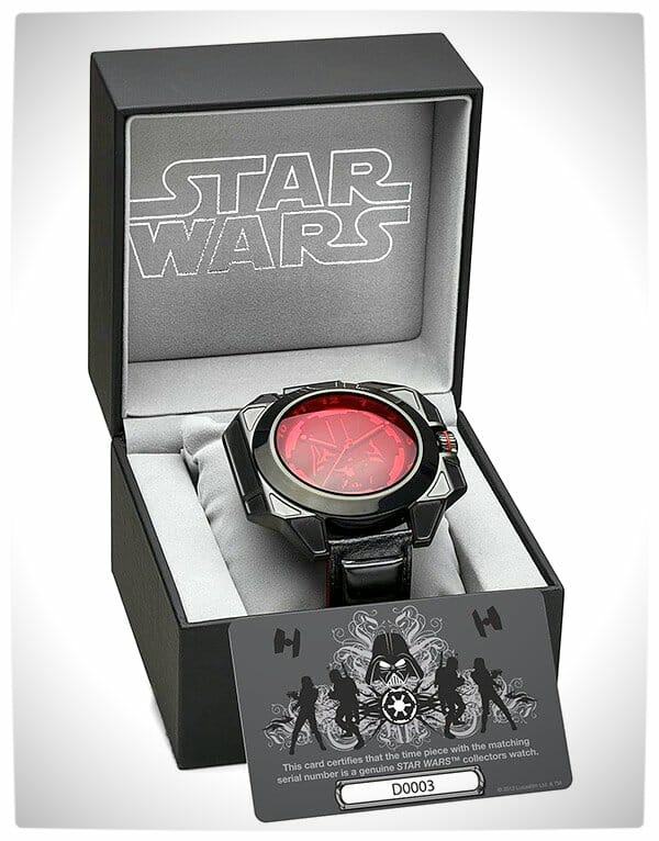 Vamers - SUATMM - Star Wars Collector's Watches - It Is Time to Use the Force - Darth Vader Time Piece Box