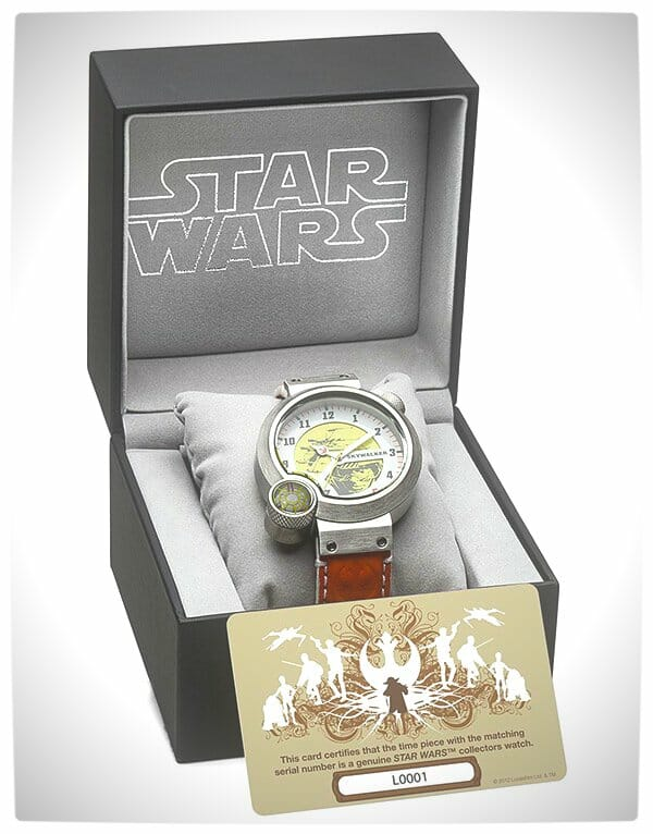 Vamers - SUATMM - Star Wars Collector's Watches - It Is Time to Use the Force - Luke Skywalker Time Piece Box