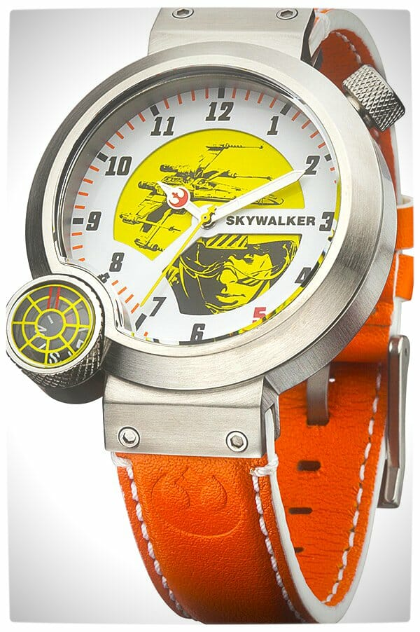 Vamers - SUATMM - Star Wars Collector's Watches - It Is Time to Use the Force - Luke Skywalker Time Piece