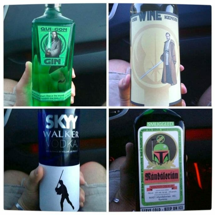 Vamers - SUATMM - Star Wars Inspired Alcohol to Help Get Drink on the Force - Labels Squared