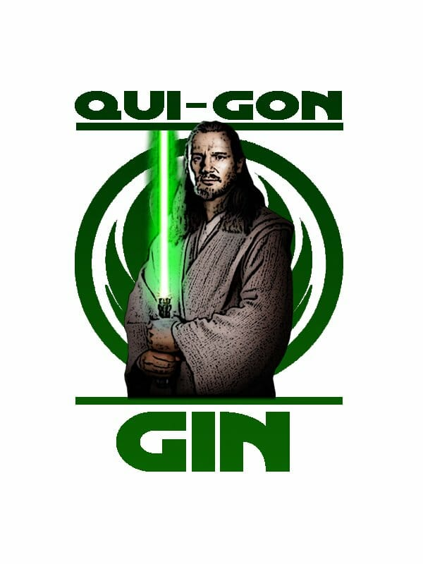 Vamers - SUATMM - Star Wars Inspired Alcohol to Help Get Drink on the Force - Qui Gon Gin