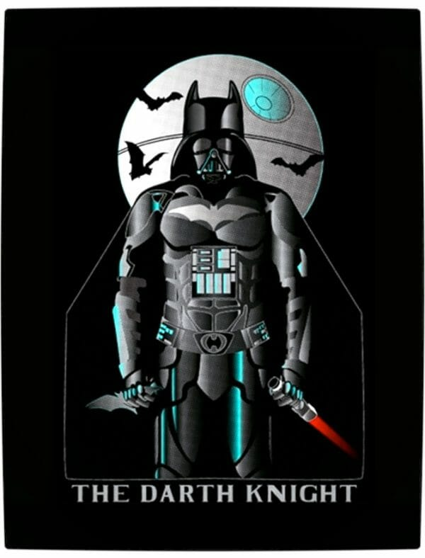Vamers - Artistry - Bat Vader is The Dark Knight of the Sith - Batman and Darth Vader Mash-Up - Art by KackToTheFuture