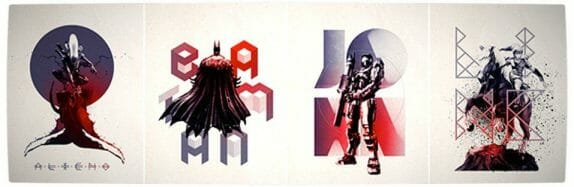 Vamers - Artistry - Beautifully Stylized Posters Of Heroes and Villains - By Josip Kelava - Banner