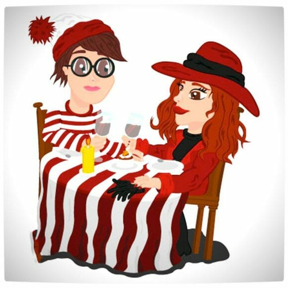 Vamers - Artistry - Carmen Sandiego and Where's Wally - A Perfectly Unfindable Match - When Waldo and Carmen Met