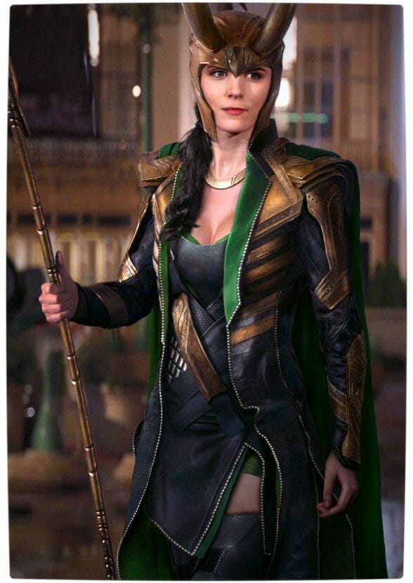 Vamers - Artistry - Female Avengers - See the Superheroes Recast as Women - Rooney Mara as Lokia