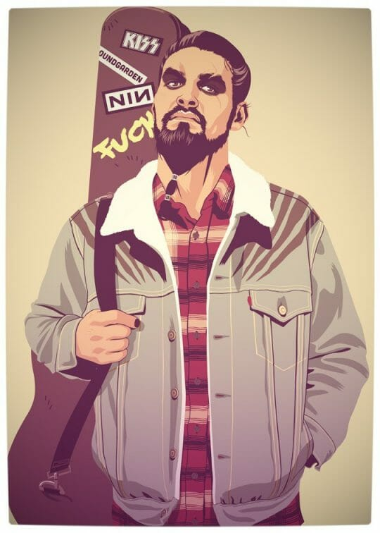 Vamers - Artistry - Game of Thrones meets Grand Theft Auto - Game of Thrones 80s and 90s Mash-up by Mike Wrobel - Kahl Drogo