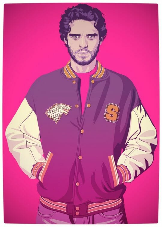 Vamers - Artistry - Game of Thrones meets Grand Theft Auto - Game of Thrones 80s and 90s Mash-up by Mike Wrobel - Robb Stark