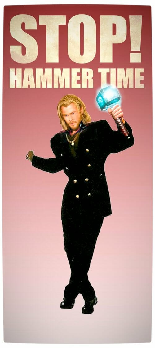 Vamers - Artistry - Stop Hammer Time with Thor for Thorsday