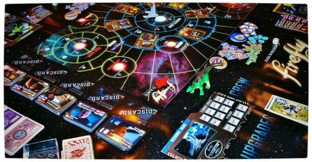 Vamers - FYI - Traditional Gaming - Get Ready to Explore the Verse with Firefly The Board Game - The Board in Motion