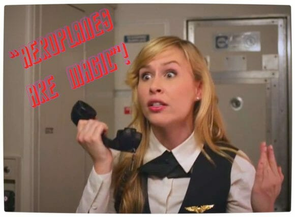 Vamers - Humour - You Can't Use Your Phone on a Plane Because They're Magic - Flight Attendant