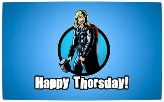 Vamers - Artistry - The Mighty Thor - Happy Thorsday - Full