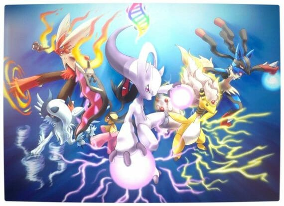 Vamers - Gaming - Pokemon X & Y Laungh Trailer - Pokemon Mega Evolutions