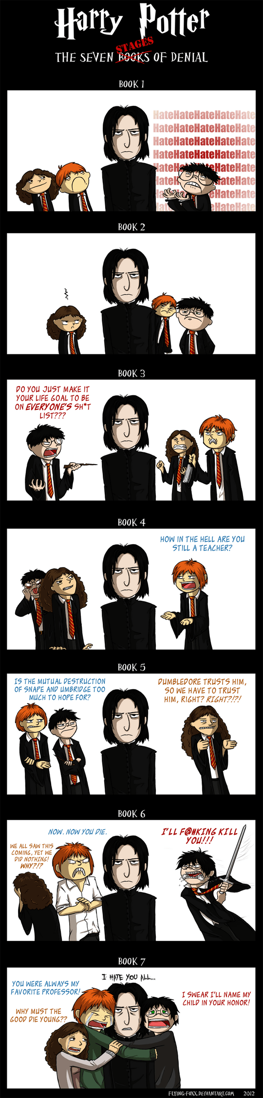 Vamers - Artistry - Harry Potter and The Seven Stages of Snape - Full
