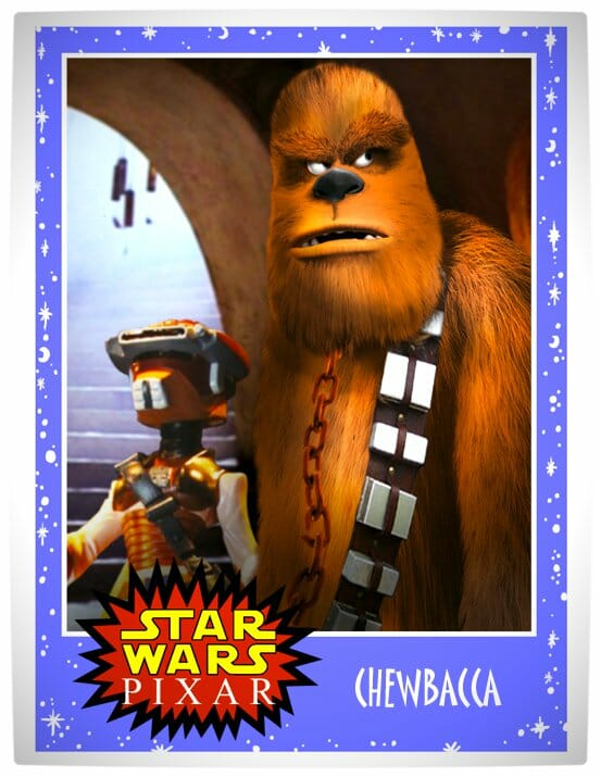 Vamers - Artistry - Star Wars as if it had been created by Pixar - Chewbacca