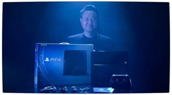 Vamers - Gaming - Sony Channels Daft Punk in Official PlayStation 4 Unboxing Video - Shuhei Yoshida with the PlayStation 4